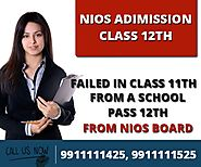 NIOS Admission Delhi -Nios online admission forms 10th / 12th class last date & coaching classes.