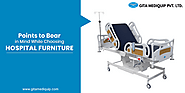 Tips for Selecting Good Quality Hospital Furniture