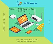 Wireless USB Adapter for Desktop Online at Affordable Price