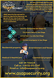 Security and Protective Company San Diego CA