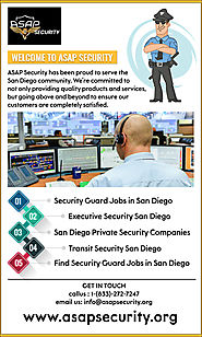 Transit Security Jobs in San Diego