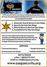 Best Companies for Security Guard in San Diego