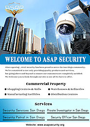 Private Security Guard Company in San Diego