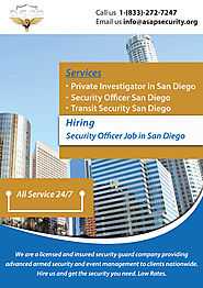 San Diego Transit Security Training Jobs