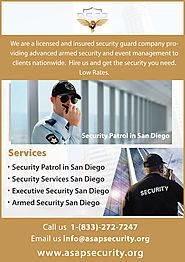 Find Best Security Services in San Diego