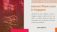 Internet Phone Lines in Singapore - SIPTEL
