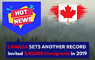 Record-Breaking Invitations by Canada in 2019 - 3,41,000 Candidates Invited
