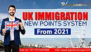 UK Immigration to Implement Canadian Style Points Based System from 2021