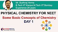 Chemistry Video Lecture for NEET By by Mr. Sudhi Raj Verma (Kaysonsmedical.com)