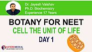Biology Video Lecture for NEET By Dr. Jayesh Vaishav (Kaysonsmedical.com)