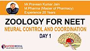 [Day 1] NEET Zoology - Video Lecture by Praveen Sir | Neural Control and Coordination - Kaysons Education