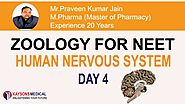 [Day 4 ] NEET Zoology - Video Lecture On Spin Cord by Praveen Kumar Sir | Kaysons Education