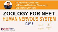 [Day 5]NEET Zoology-Video Lecture on Peripheral Nervous System by Praveen Sir | Kaysons Education.