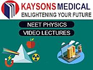 Day 3 - NEET Physics -Video Lecture on One Dimensional (1-D) Motion by PK Verma Sir - Kaysons Education
