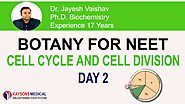 [Day 2] NEET Biology-Video Lecture on Mitosis, Karyokinesis by Dr. Jayeshv Sir | Kaysons Education