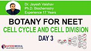[Day 3] NEET Biology - Video Lecture on Meiosis By Jayesh Vaishav | Kaysons Education