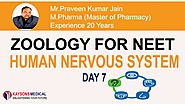 [Day 7] NEET Zoology - Video Lectures on Sensory Organs, Organs of Sight by PK Jain -Kaysons Education