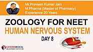 [Day 8] NEET Zoology-Video Lecture on Working of Eye, Mechanism of Vision by PK Sir- Kaysons Education
