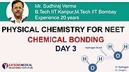 [Day 3] NEET Chemistry - Video Lectures on Hydrogen Bond | Physical Chemistry - Kaysons Education