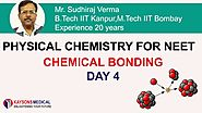 [Day 4] NEET Chemistry - Video Lectures on Bond Energy & Hybridisation and shape - Kaysons Education