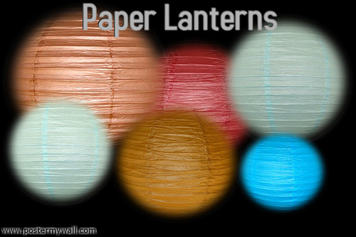 Headline for Asian and Chinese Paper Lanterns