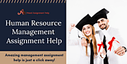 Get Human Resource Management Assignment Help by Experts