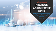 Finance Assignment Help- The Best Online Assistance is Just a Click Away