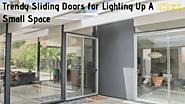 Trendy Sliding Doors for Lighting Up A Small Space | Pretty Inspiration