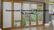 Features and Functions of Retractable Fly Screens