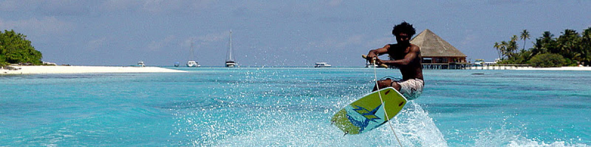 Headline for Exciting Water Sports In the Maldives For Your Adrenaline Fix - Thrills of island life