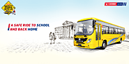 Eicher Skyline Pro School Buses Ensures your Kid's Safety on the Roads to School