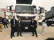 Eicher Heavy Duty Trucks for Mining and Construction at EXCON 2017