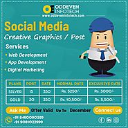 Best Social Media Marketing Services Company in Ahmedabad | Oddeven Infotech