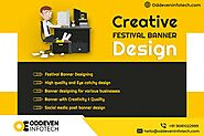 Creative Festival Banner Design Services in India