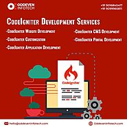 PHP CodeIgniter development Services by Oddeven Infotech