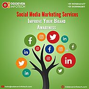 Social media marketing Services by Oddeven Infotech