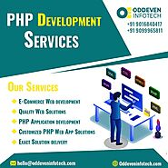 Excellent PHP Web Development Services in India