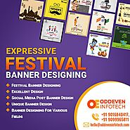 Festival Banner Design Services in India
