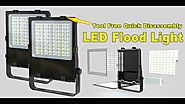 LED FLOOD LIGHT FIXTURES, Tool Free Quick Disassembly!!