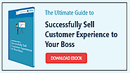 Ebook | The Ultimate Guide to Successfully Sell Customer Experience to Your Boss