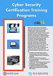 Learn Basic to Advanced Cyber Security in Mile2 Training Programs