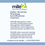Cyber Security Certification Training Programs