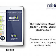 Buy Electronic Books | Mile2® - Cyber Security Certifications