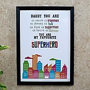 Super Hero Photo Frame