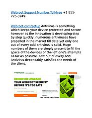 Webroot Support Number for Best support Toll-free +1 855-725-3249 by Webroot Activation Support Toll-free +1 855-725-...