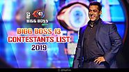 Bigg Boss 13 Contestants List 2019- Watch the show at 10.30 pm from Monday to Friday