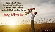 "Best ""Happy Fathers Day Wishes"" from Daughter & Son 