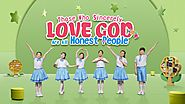 "Kids Dance | Christian Worship Song ""Those Who Sincerely Love God Are All Honest People"" God Loves the Honest"
