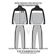 MENS TRACKSUIT WITH REFLECTIVE